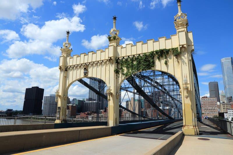 Pittsburgh PA arkivfoton
