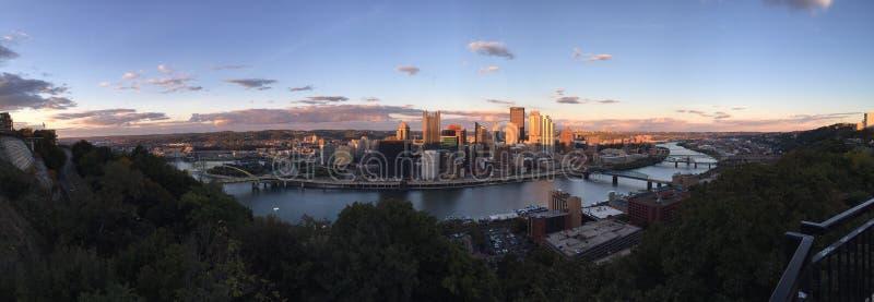 Pittsburgh Paranama lizenzfreie stockfotografie