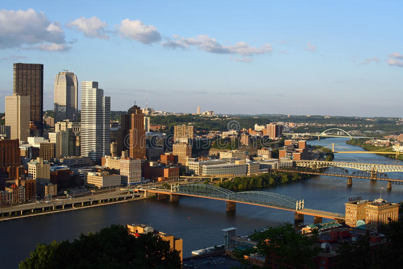 Pittsburgh, Pennsylvania imagen de archivo libre de regalías