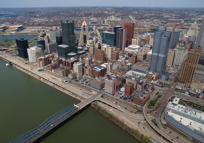 Download Pittsburgh Pennsylvania Aerial Stock Image - Image of aerial, architecture: 23246589