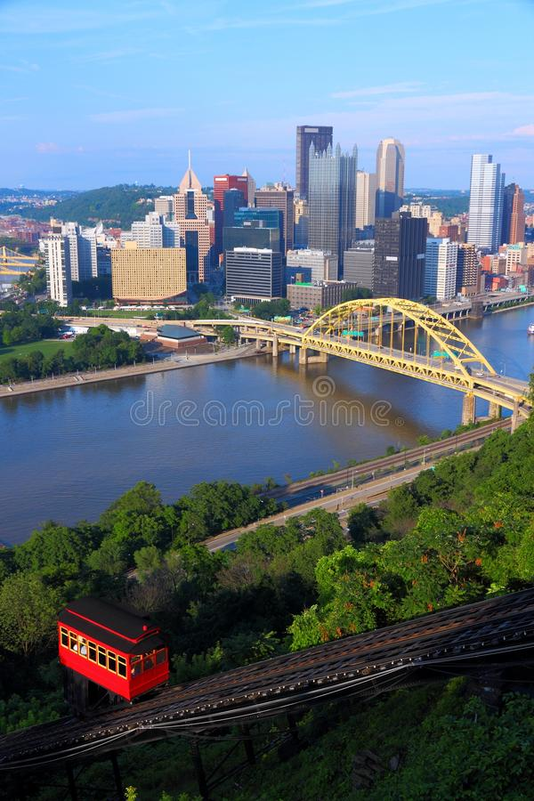 Download Pittsburgh stock photo. Image of financial, railroad - 33699400