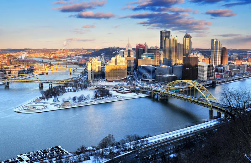 Pittsburgh, Pennsylvania los E.E.U.U. imagenes de archivo