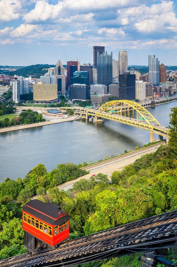 Pittsburgh, Pennsylvania, los E.E.U.U. foto de archivo libre de regalías