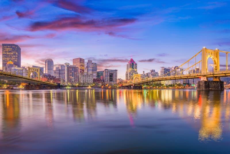Pittsburgh, Pennsylvania, los E.E.U.U. foto de archivo