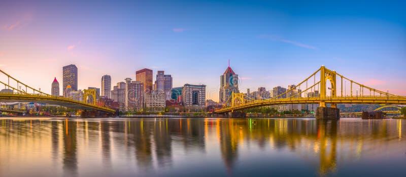 Pittsburgh, Pennsylvania, los E.E.U.U. imagen de archivo