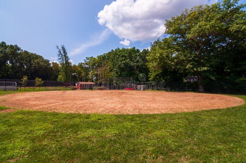 Pittsburgh, Pennsylvania, los E.E.U.U. 7/25/2019 del 14to de la sala campo de béisbol en el parque de Frick en la avenida del sur fotos de archivo