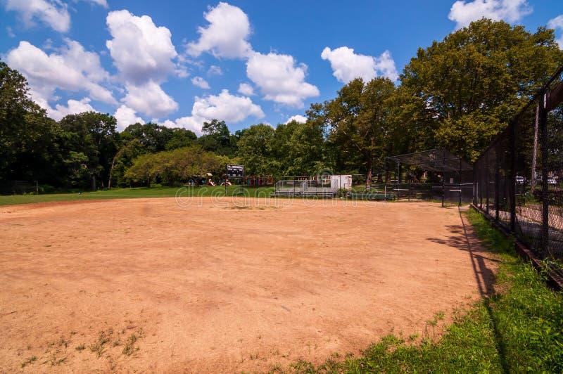 Pittsburgh, Pennsylvania, los E.E.U.U. 7/25/2019 del 14to de la sala campo de béisbol en el parque de Frick en la avenida del sur imágenes de archivo libres de regalías