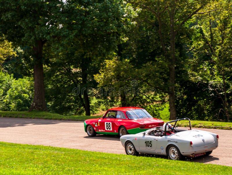 Pittsburgh, Pennsylvania, los E.E.U.U. 7/21/2019 del vintage Gran Prix de Pittsburgh fotos de archivo
