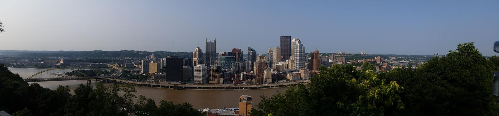 Pittsburgh Pennsylvania royalty free stock images