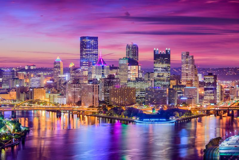 Pittsburgh Pennsylvania, USA royaltyfria bilder