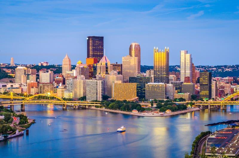 Pittsburgh Pennsylvania, USA royaltyfria foton
