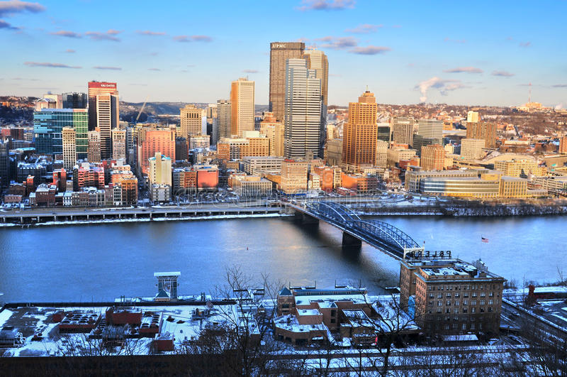Pittsburgh, Pennsylvanie Etats-Unis images stock