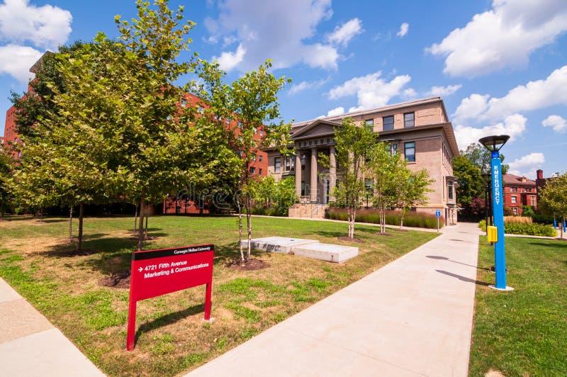 Pittsburgh, Pennsylvanie, Etats-Unis 7/27/2019 de la vente et la construction de communications du Carnegie Mellon University images stock