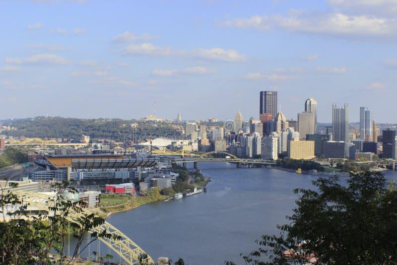 Pittsburgh Pennsylwania i Heinz pole zdjęcie stock