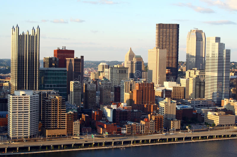 Pittsburgh, Pensilvânia imagem de stock