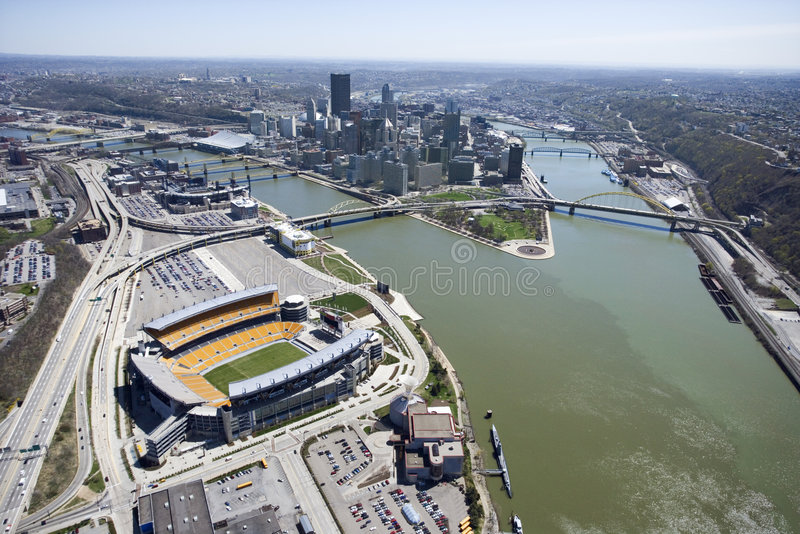 Pittsburgh, Pensilvânia. imagens de stock