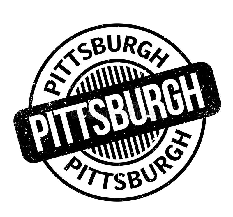 Pittsburgh rubber stamp vector illustration