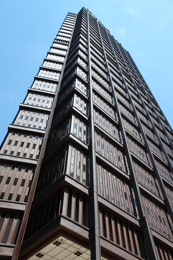 Pittsburgh - Steel Tower. PITTSBURGH, USA - JUNE 29, 2013: Exterior view of US Steel Tower building in Pittsburgh. It is the tallest skyscraper in Pittsburgh at stock image