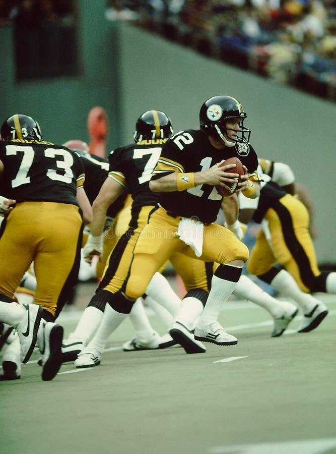 Pittsburgh Steelers de Terry Bradshaw photo stock