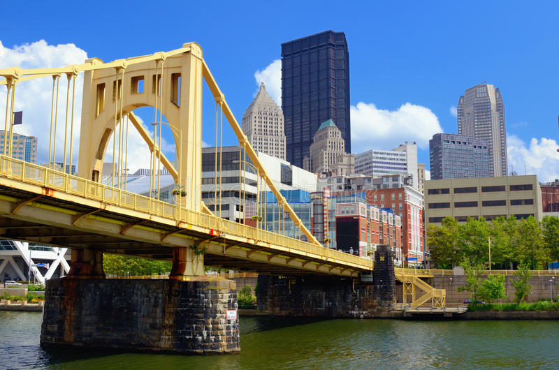 Pittsburgh strand royaltyfria foton