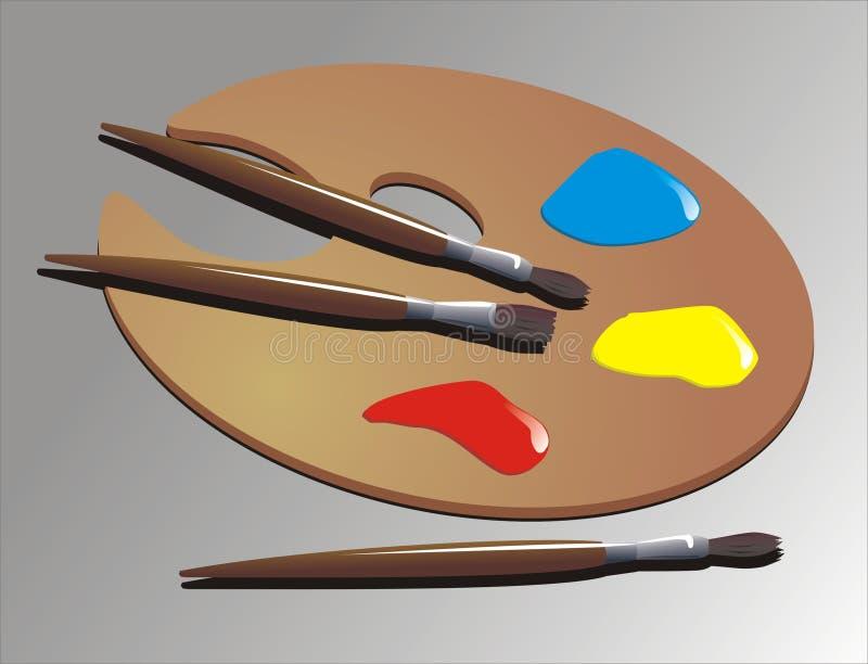 Pittura illustrazione vettoriale