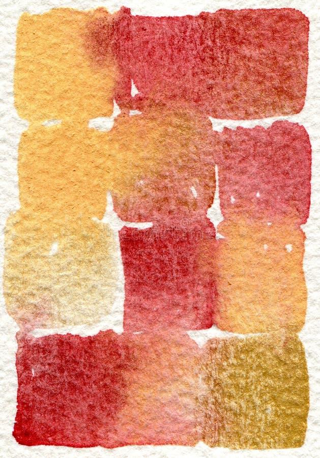 Pittura astratta 09 dell'acquerello fotografia stock libera da diritti