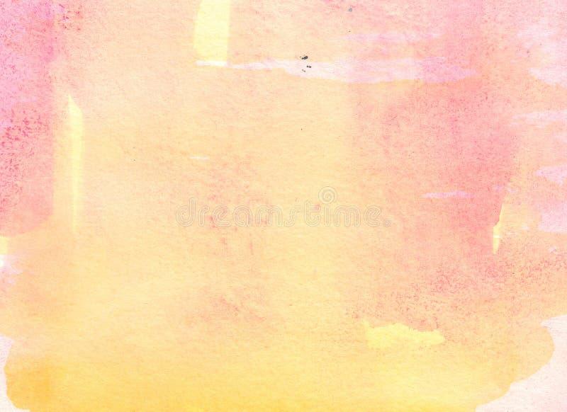 Pittura astratta del fondo illustrazione di stock