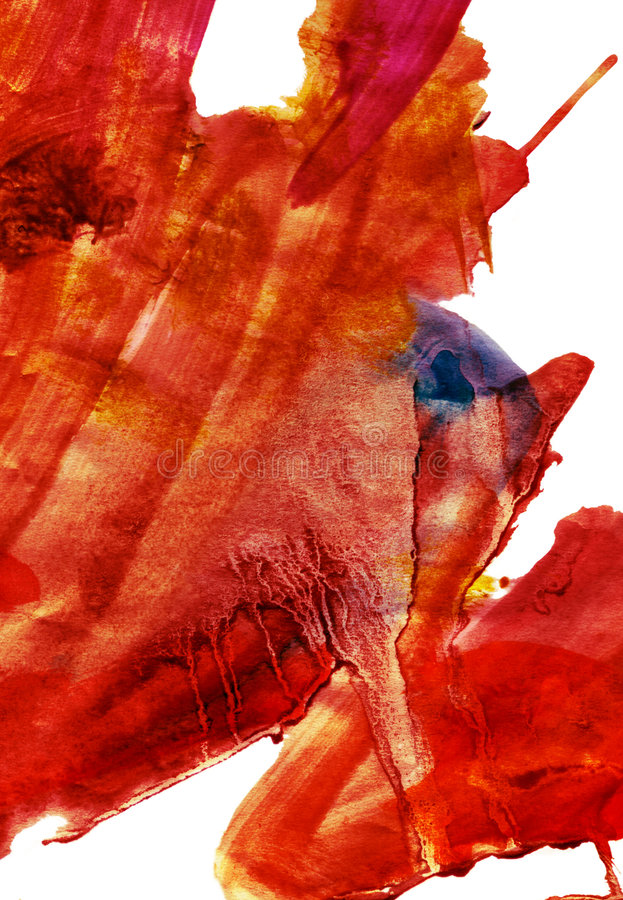 Pittura astratta dell'espressionista royalty illustrazione gratis