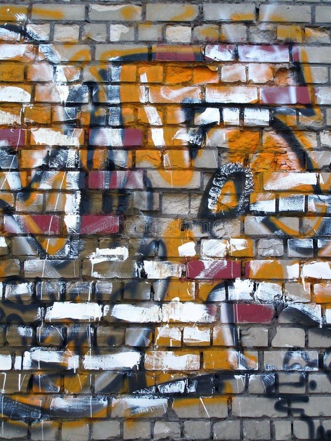 Pittura astratta della parete immagine stock libera da diritti