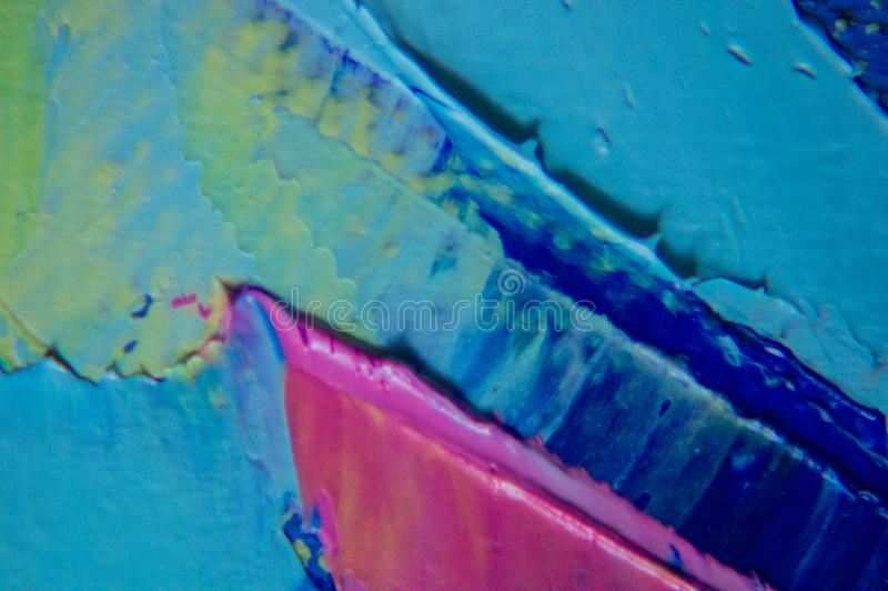 Pittura astratta moderna dell'inchiostro dell'alcool, arte moderna, astrattismo, arte contemporanea immagine stock