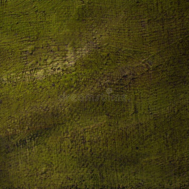 Pittura astratta moderna per l'interno da olio su una tela approssimativa, immagine stock libera da diritti