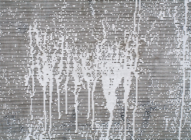 Pittura bianca su tela grigia Fondo, struttura royalty illustrazione gratis