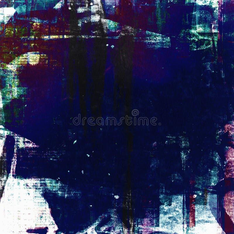 Pittura blu immagine stock libera da diritti