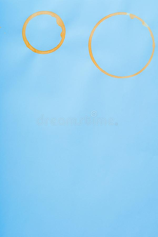 Pittura con le macchie del caffè fotografie stock libere da diritti