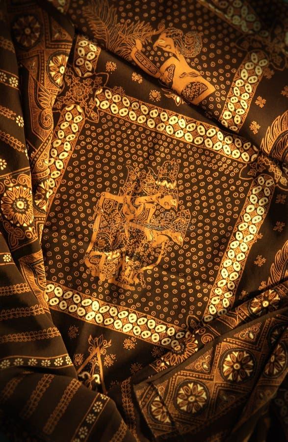 Pittura del batik di Javanese fotografie stock libere da diritti