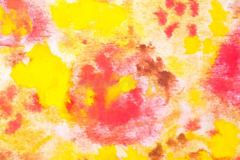 Pittura dell'acquerello fotografia stock libera da diritti