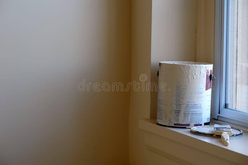 Pittura della stanza immagine stock