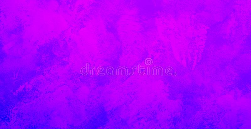 Pittura di astrattismo nel colore blu di pendenza per il fondo di struttura immagini stock libere da diritti