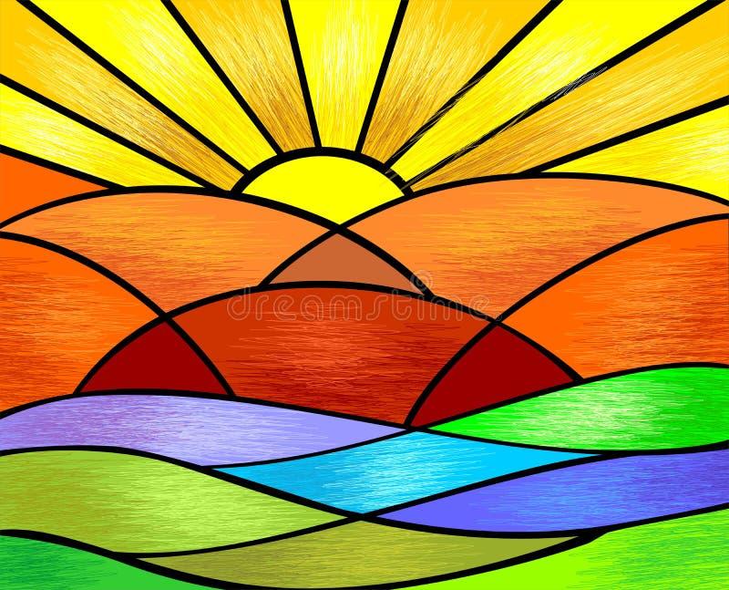 Pittura di Digitahi illustrazione vettoriale
