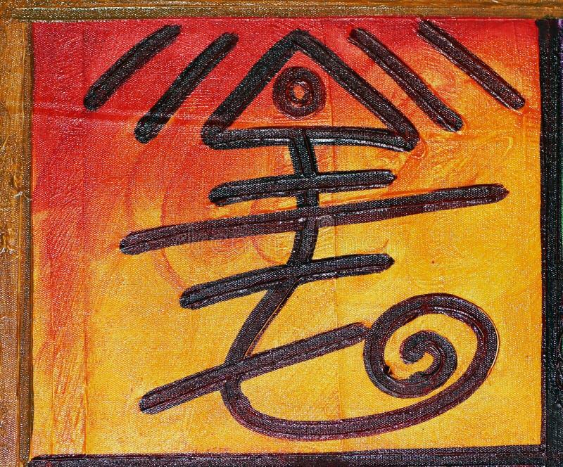 Download Pittura di Taino fotografia stock. Immagine di repubblica - 56890272