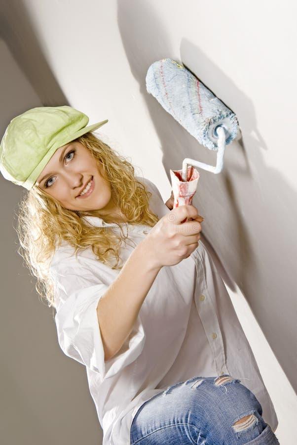 Pittura domestica immagini stock libere da diritti
