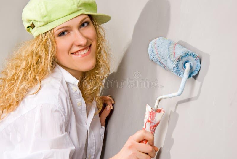 Pittura domestica immagini stock