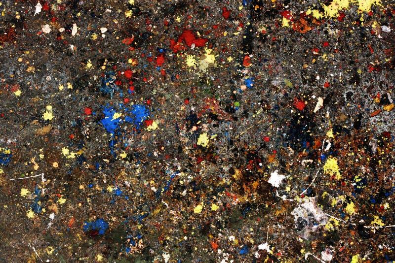 Pittura espressiva fotografia stock libera da diritti