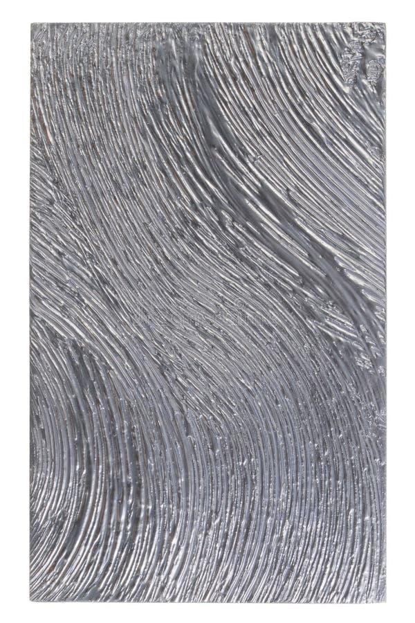 Pittura grigia sulle mattonelle spruzzate Belle insegne dipinte di progettazione della superficie fotografia stock