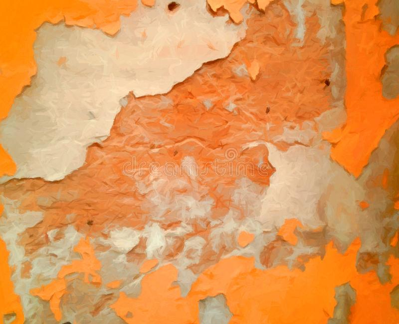 Pittura o struttura digitale astratta fotografia stock