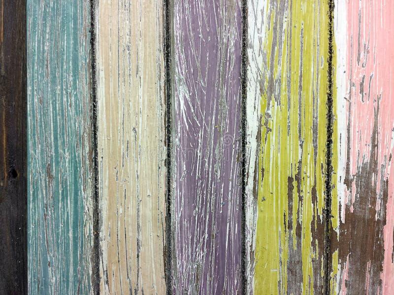 Pittura sbiadita sul legno del granaio fotografia stock libera da diritti