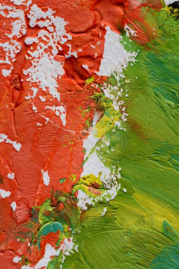Pittura spalmata su carta immagini stock libere da diritti