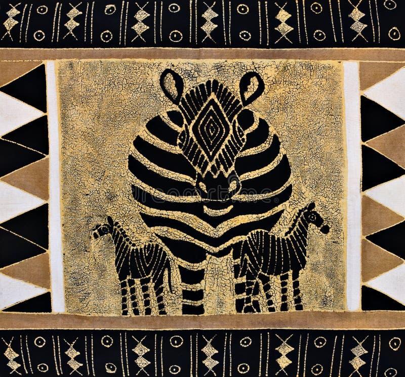 Pittura tribale immagine stock