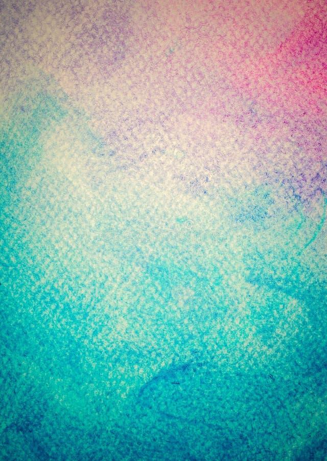 Pittura variopinta dell'acquerello su tela d'annata Alta risoluzione e fondo eccellenti di qualità illustrazione vettoriale
