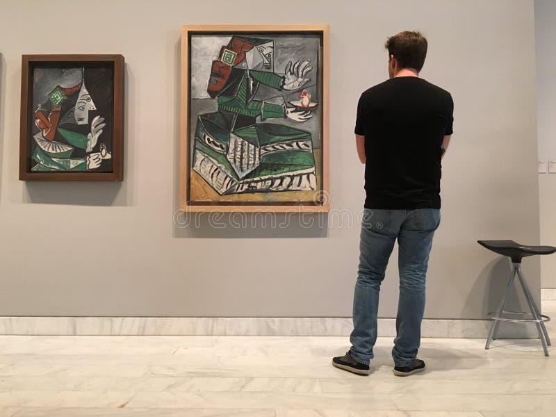 Pitture di Picasso immagine stock